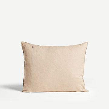 Game Line Cushion in Charcoal