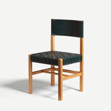 Cinch Chair in Forest Green (Wide Weave)