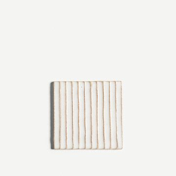 Fluted Tile in White