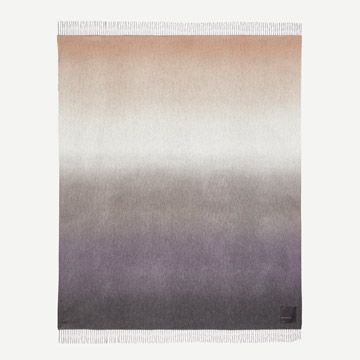 Nuance Ombre Cashmere Throw in Marbled Midnight