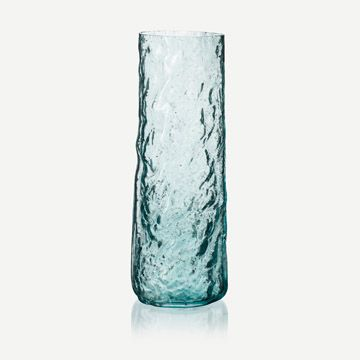 Cylinder Vessel in Light Turquoise (Tall)