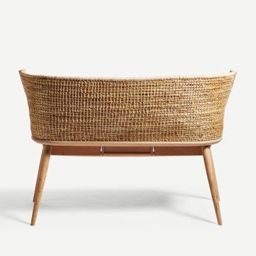 Brodgar Straw Back Bench (With Drawers)