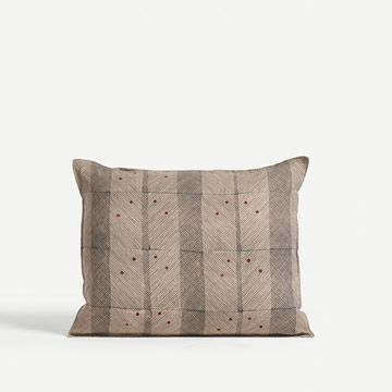 Call Line Cushion in Charcoal