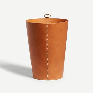 Eyelet Bin in Hazel (Bar Stitch)