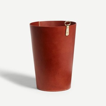 Eyelet Bin in Russet (Bar Stitch)