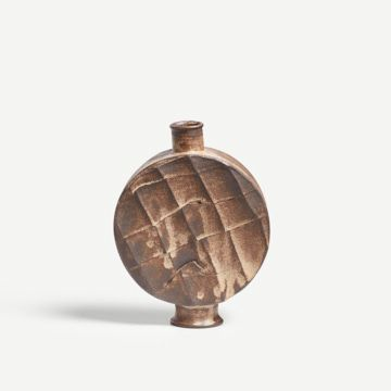 Dry Rutile Faceted Flask II