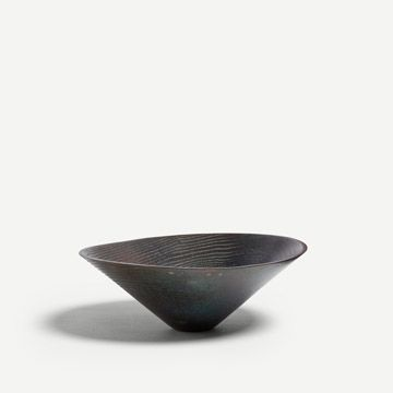 Russet Bronze Conical Bowl