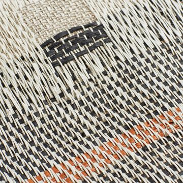 Interrupted Pattern Hand Woven Panel I