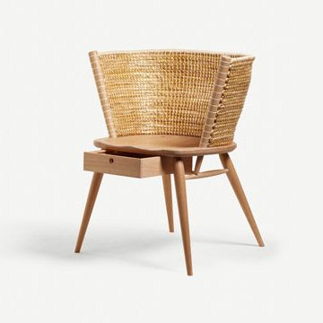 Brodgar Occasional Chair (With Drawer)