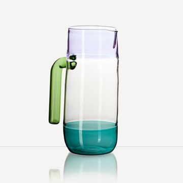 Incalmo Jug (Purple, Teal and Green)