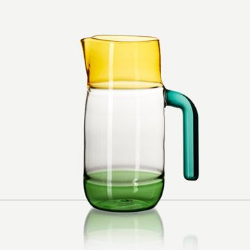 Incalmo Jug (Amber, Green and Teal)