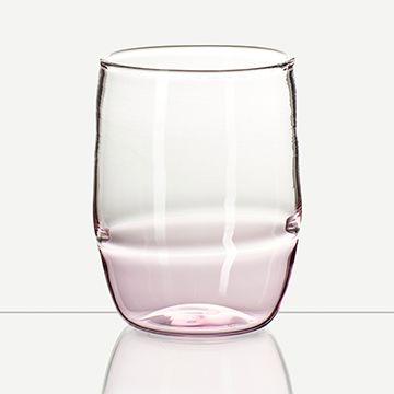 Incalmo Water Glass (Pink)