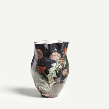 The Butterflies Flew at Night Vase