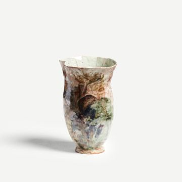 The Arrival of Butterflies Vase