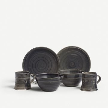 Charcoal Breakfast Set for Two