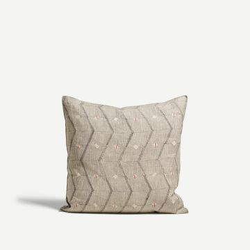 Sidewall Square Cushion by Louisa Loakes