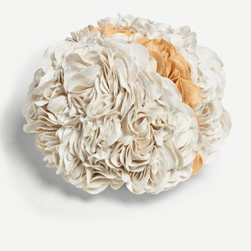 White and Yellow Bloom Sculpture (Large)