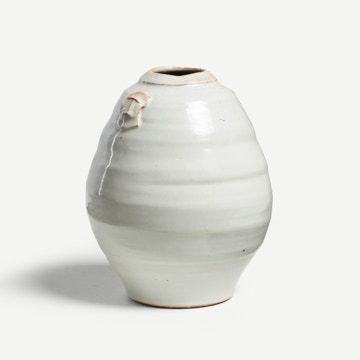 Shino Jar with Pulled Handles I