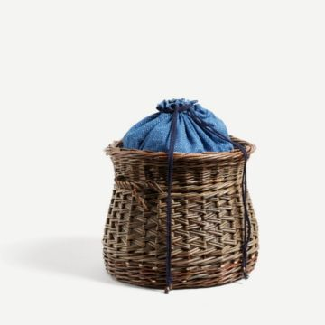 Willow Knitting Basket