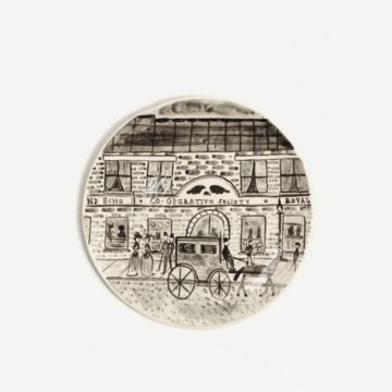 Horse and Carriage Ornamental Plate by Alex Sickling