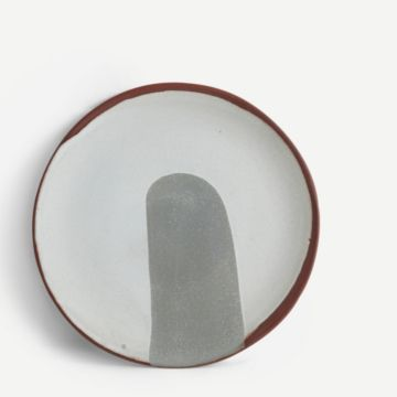 Terracotta Medium Plate (Grey)