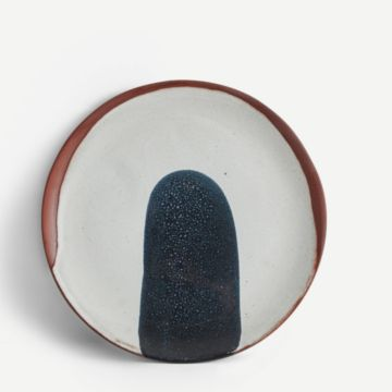 Terracotta Medium Plate (Navy)