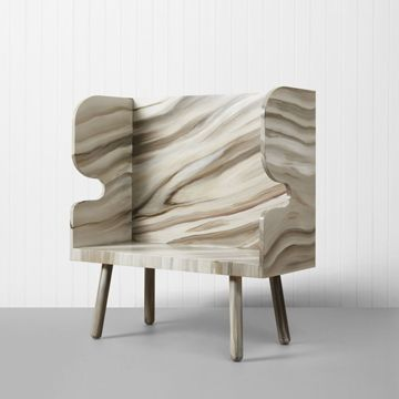 'PLANK' Settle (Lacquered) (Small)