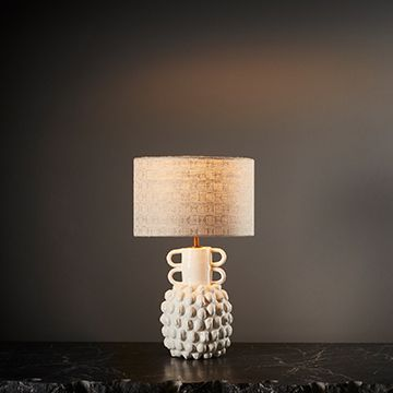 Guardian Table Lamp (Small) (Aztec Shade) by The New Craftsmen
