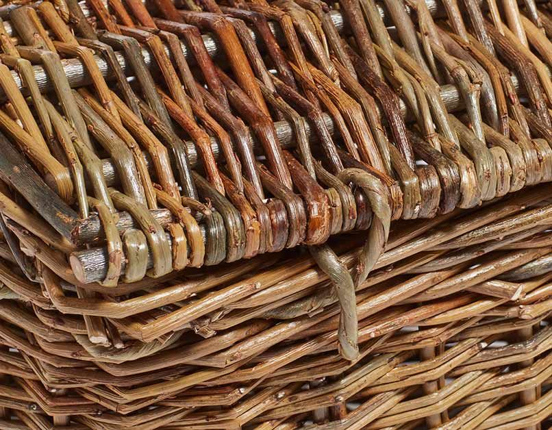 Light Brown Willow Tray