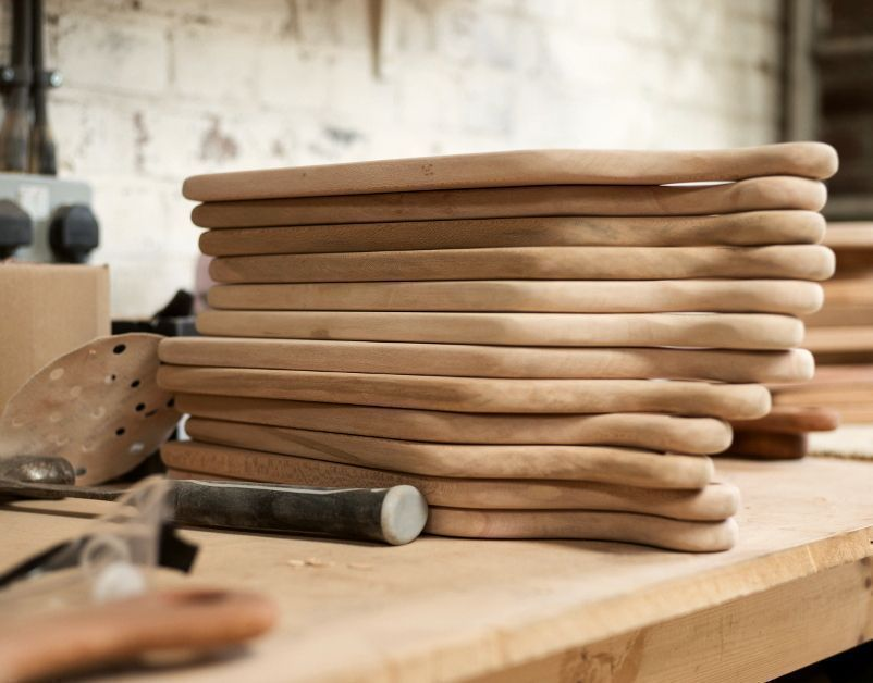 Hampson Woods, Wood Board Stack, The New Craftsmen