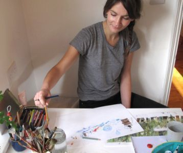 Laura Carlin, working Process, The New Craftsmen